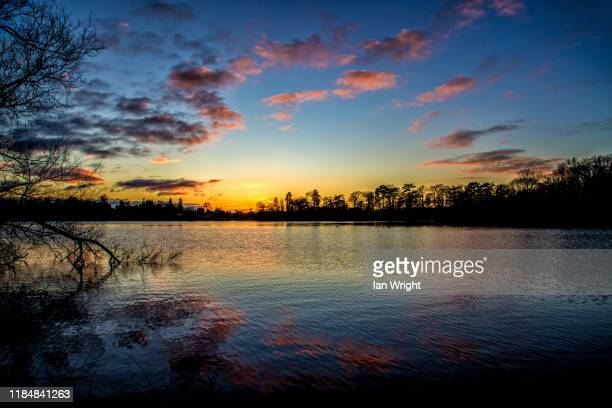 mere sunset, ellesmere #9 - 2017 stock pictures, royalty-free photos & images