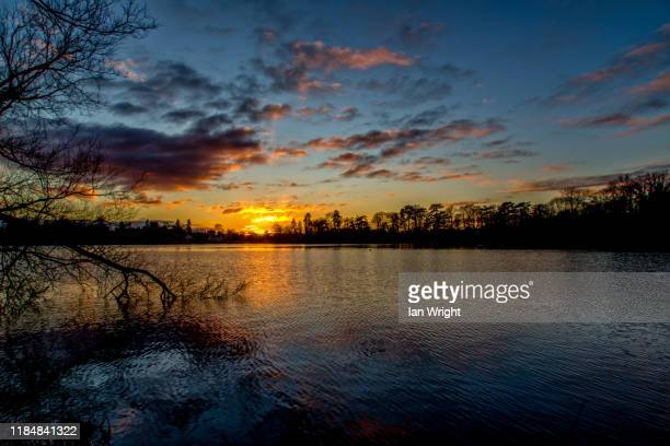mere sunset, ellesmere #8 - 2017 stock pictures, royalty-free photos & images