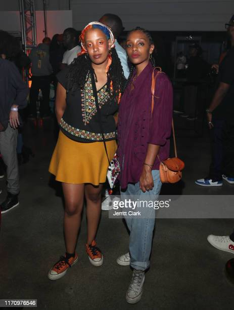 Mereba attends SiR's Album Listening Event at Hubble Studio on August 28 2019 in Los Angeles California