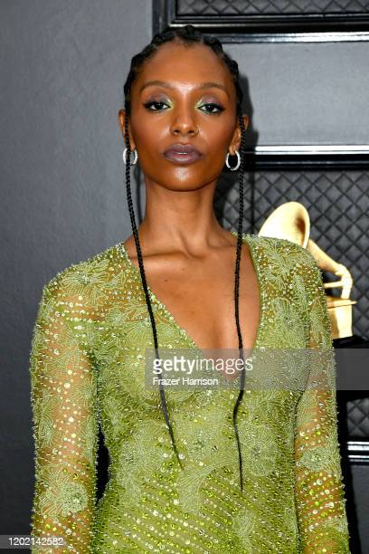 Mereba attends the 62nd Annual GRAMMY Awards at STAPLES Center on January 26 2020 in Los Angeles California