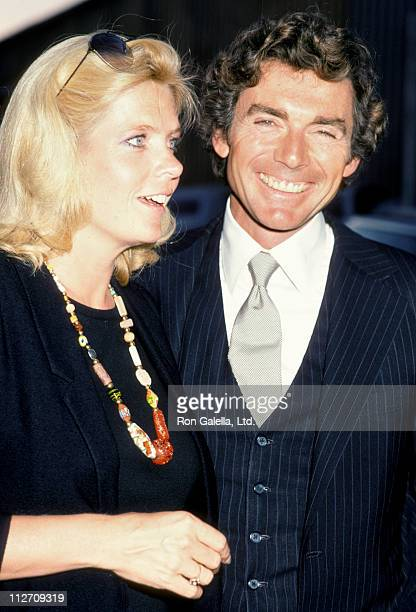 Meredith Baxter and actor David Birney attend 10th Anniversary Party for People Magazine on June 14 1984 at the Century Plaza Hotel in Century City...