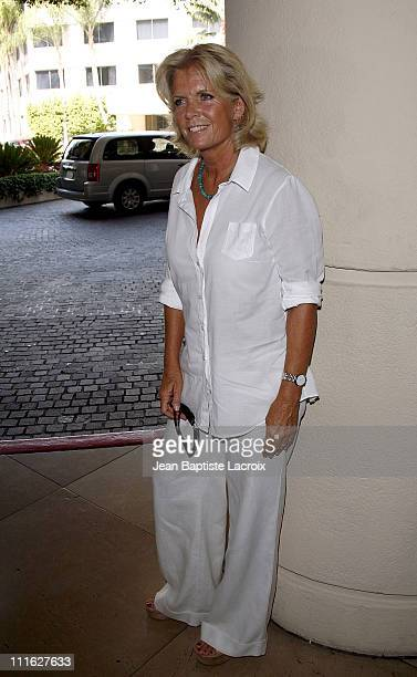 Meredith Baxter sighting at the Beverly Hilton Hotel on July 8 2008 in Beverly Hills California