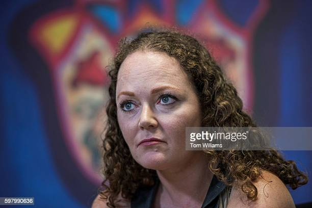 Meredith Bower a customer of the medical marijuana dispensary Takoma Wellness Center in Takoma Park is interviewed August 30 2016 Bower suffers from...