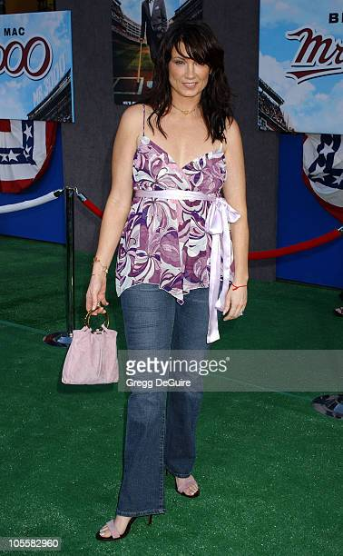 Meredith Brooks during Mr 3000 Premiere Los Angeles at El Capitan in Hollywood California United States