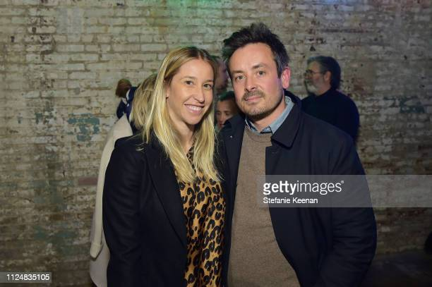 Meredith Darrow and Alex Lieberman attend Hauser Wirth Los Angeles Opening of Annie Leibovitz and Piero Manzoni and Musical Performance by Patti...