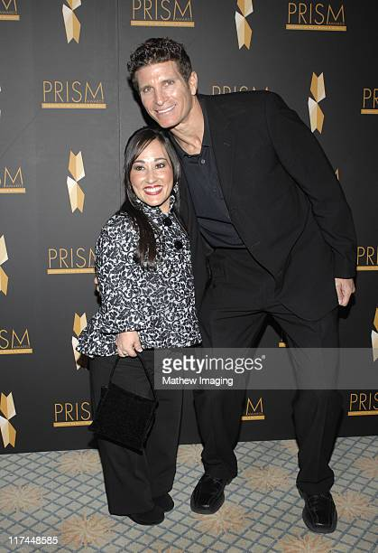 Meredith Eaton and guest during The 11th Annual PRISM Awards - Arrivals at The Beverly Hills Hotel in Beverly Hills, California, United States.