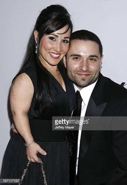 Meredith Eaton and husband Brian Gordon arrive at the NBC Universal Pictures and Focus Features Official After Party for the 66th Annual Golden Globe...
