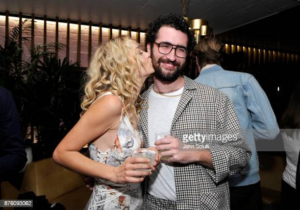 Meredith Hagner and guest at the search party cocktail reception during Vulture Festival LA presented by ATT on November 18 2017 in Hollywood...