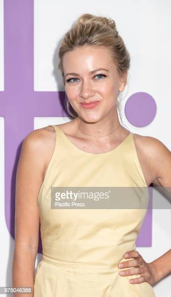 Meredith Hagner attends the New York special screening of the Netflix film 'Set It Up' at AMC Loews Lincoln Square