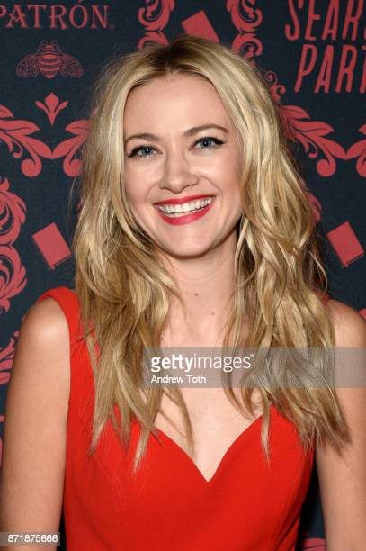 Meredith Hagner attends the season 2 premiere of 'Search Party' at Public Arts at Public on November 8 2017 in New York City