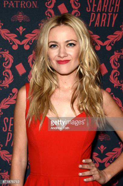 Meredith Hagner attends the season 2 premiere of Search Party at Public Arts at Public on November 8 2017 in New York City