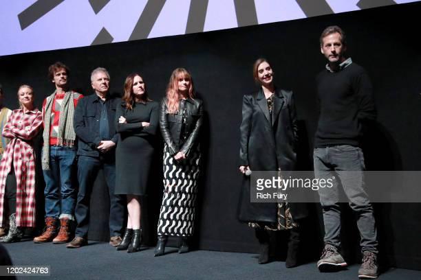 Meredith Hagner Matthew Gray Gubler Paul Reiser Molly Shannon Debby Ryan Alison Brie and Jeff Baena attend the 2020 Sundance Film Festival Horse Girl...