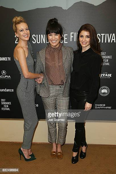 Meredith Hagner Zoe Chai and Shiri Appleby attend the Refinery29 and Beachside's World Premiere of Strangers at Sundance Film Festival 2017 at...
