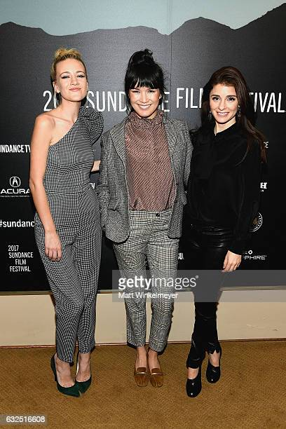 Meredith Hagner Zoe Chao and Shiri Appleby attend the Short Form Episodic Showcase at Egyptian Theatre on January 23 2017 in Park City Utah