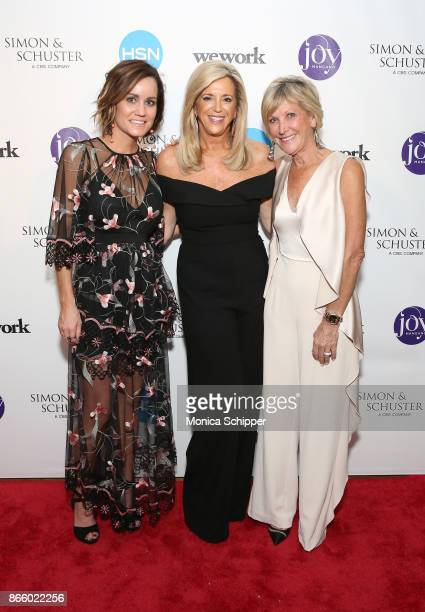 Meredith Lawrence Joy Mangano and Karen Lawrence attend as inventor and entrepreneur Joy Mangano celebrates the release of her first book INVENTING...