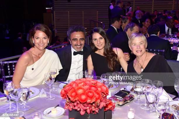 Meredith Long, Hamdi Ulukaya, Louise Vongerichten and Tammy Reynolds attend the 2017 TIME 100 Gala at Jazz at Lincoln Center on April 25, 2017 in New...