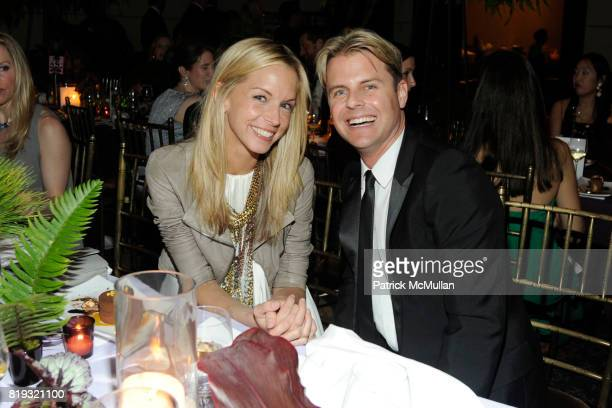 Meredith Melling Burke and Adam Lippes attend NEW YORKERS FOR CHILDREN Spring Dinner Dance Presented by AKRIS at The Mandarin Oriental on April 8...