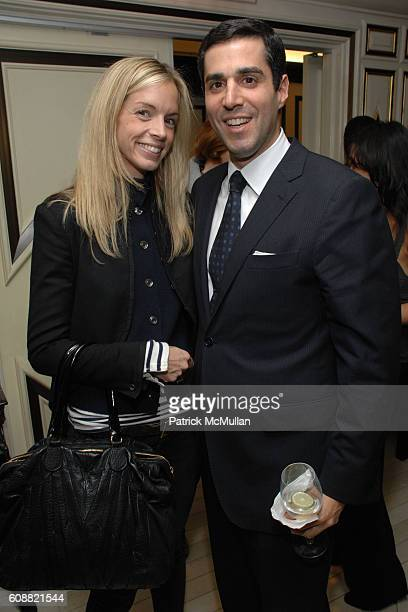 Meredith Melling Burke and Jim Gold attend BERGDORF GOODMAN hosts Cocktails for OLIVIER THEYSKENS of NINA RICCI at Bergdorf Goodman on October 30...