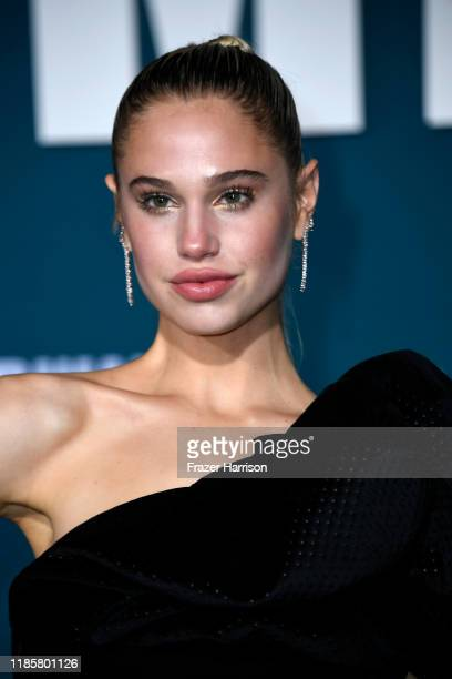Meredith Mickelson attends the Premiere Of Lionsgate's Midway at Regency Village Theatre on November 05 2019 in Westwood California