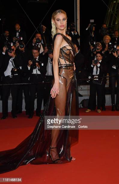 Meredith Mickelson attends the screening of Rambo Last Blood during the 72nd annual Cannes Film Festival on May 24 2019 in Cannes France