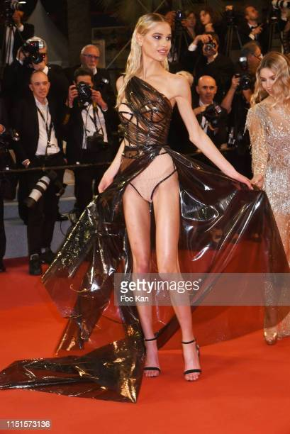 Meredith Mickelson attends the screening of Rambo – Last Blood during the 72nd annual Cannes Film Festival on May 24 2019 in Cannes France