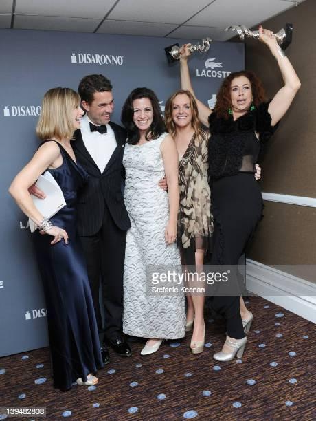Meredith Monroe Don Winston Jacqueline Mazarella JL Pomeroy and Roma Maffia attend the 14th Annual Costume Designers Guild Awards With Presenting...