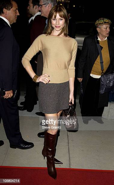 Meredith Monroe during 'Master Commander The Far Side of the World' Los Angeles Premiere at Academy Theatre in Beverly Hills California United States