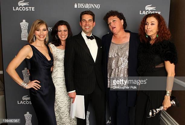 Meredith Monroe Jacqueline Mazarella Don Winston DotMarie Jones and Roma Maffia attend the 14th Annual Costume Designers Guild Awards With Presenting...