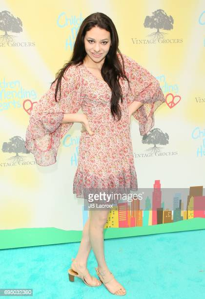 Meredith O'Connor attends the Children Mending Hearts 9th Annual Empathy Rocks Fundraiser on June 11 2017 in Beverly Hills California