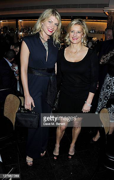 Meredith Ostrom and Alison Jackson attend a private dinner celebrating the 30th anniversary of iconic London restaurant Le Caprice on October 4 2011...