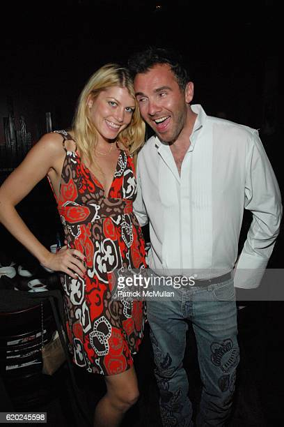 Meredith Ostrom and Austin Palmer attend Paper Magazine The Last Supper at Shin BBQ on November 9 2008 in Hollywood CA