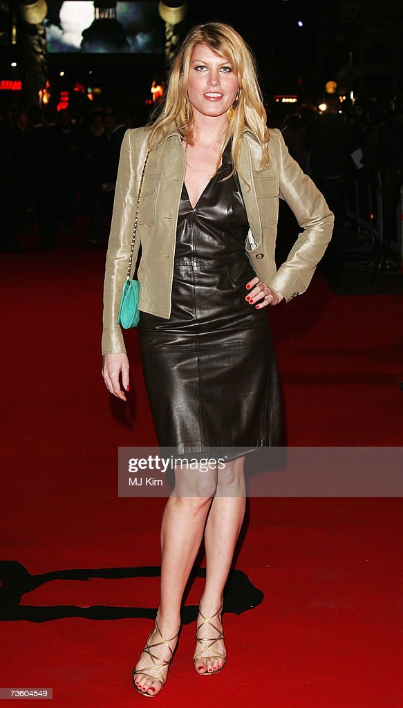 Meredith Ostrom arrives at the UK Premiere of '300' at Vue West End, Leicester Square on March 15, 2007 in London, England. Based on the work of graphic novelist Frank Miller, creator of ?Sin City?, '300' relates to the 480 B.C. Battle of Thermopylae.