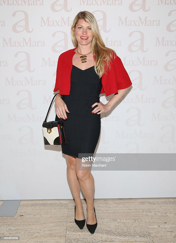 Meredith Ostrom attends Max Mara Spring/Summer 2016 Accessories Campaign Celebration at Four Seasons Restaurant on October 19, 2015 in New York City.