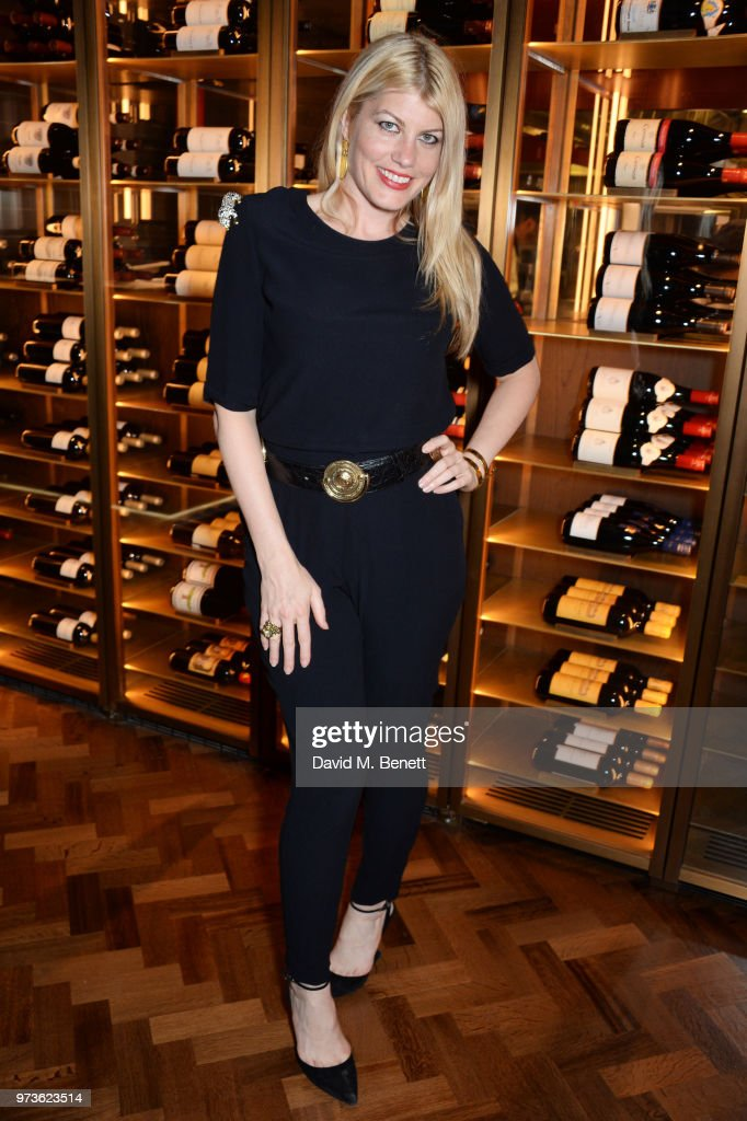 Meredith Ostrom attends the Centrepoint VIP Dinner hosted By Kiera Chaplin & Elen Rivas at Cafe Royal on June 13, 2018 in London, England.