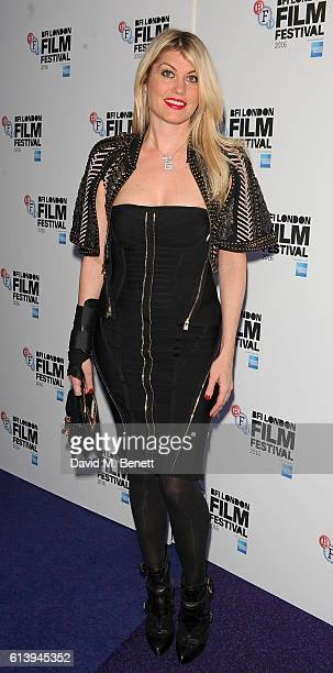 Meredith Ostrom attends the 'London Town' screening during the 60th BFI London Film Festival at Haymarket Cinema on October 11 2016 in London England