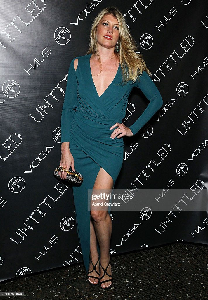 Meredith Ostrom attends The Untitled Magazine Celebrates The #GirlPower Issue at Haus on September 16, 2015 in New York City.