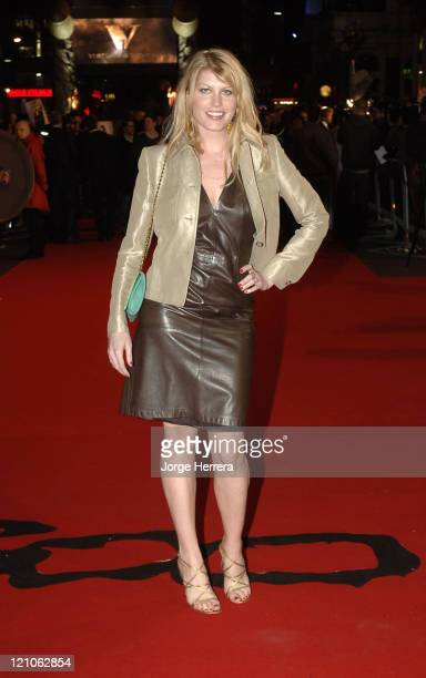 Meredith Ostrom during '300' London Premiere Arrivals at Vue West End in London Great Britain