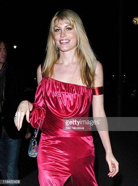Meredith Ostrom during 'Casanova' London Premiere After Party at Luciano in London Great Britain