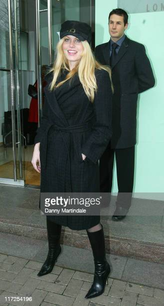 Meredith Ostrom during De Grisogono Launch Party November 30 2006 at Nobu in London Great Britain