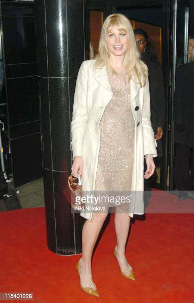 """Meredith Ostrom during """"Derailed"""" London Premiere - Arrivals at Curzon Mayfair in London, Great Britain."""
