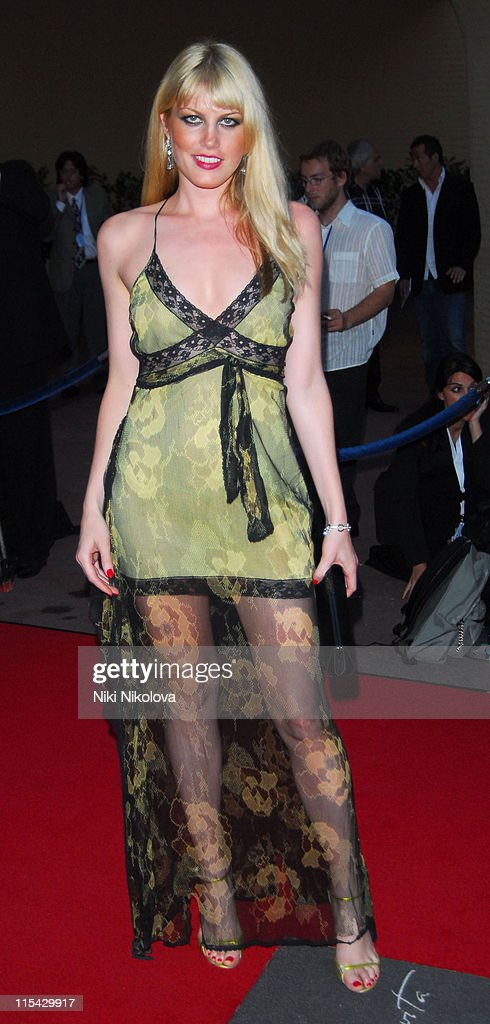 Meredith Ostrom during La Dolce Vita Grand Prix Ball - May 27, 2006 at Les Salles Des Etoiles in Monaco.