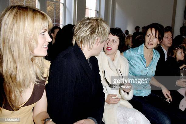 Meredith Ostrom Nick Rhodes Isabella Blow and Saffron Aldridge