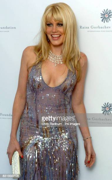 Meredith Ostrum arrives at the Raisa Gorbachev Foundation Russian Ball at Althorp House Northamptonshire PRESS ASSOCIATION Photo Picture date...