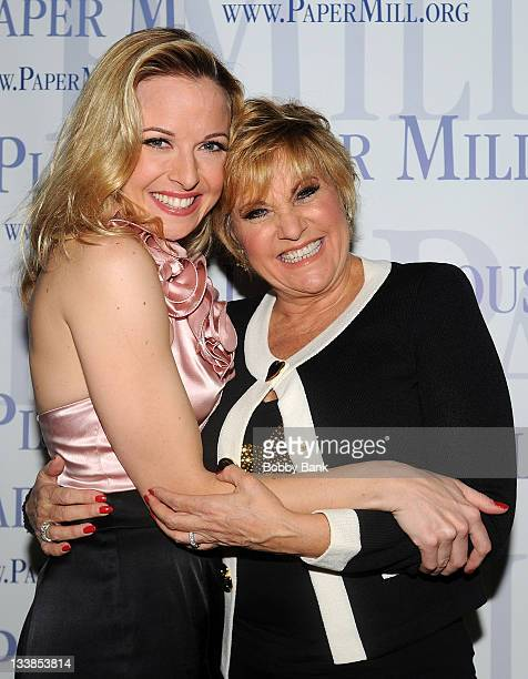 Meredith Patterson and Lorna Luft attends the White Christmas cast party at the Papermill Playhouse on November 20 2011 in Millburn New Jersey