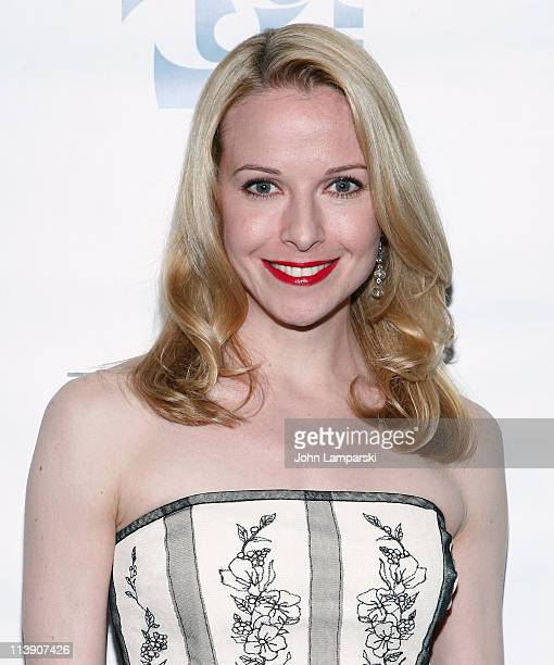 Meredith Patterson attends the TACT/The Actors Company Theatre Spring Gala at The Edison Ballroom on May 9 2011 in New York United States