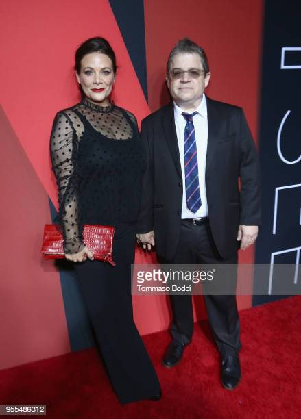 Meredith Salenger and Patton Oswalt attend the Netflix FYSEE KickOff at Netflix FYSEE At Raleigh Studios on May 6 2018 in Los Angeles California
