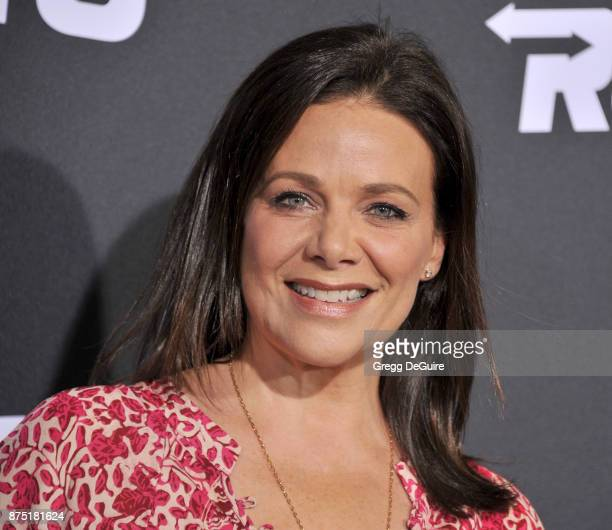 Meredith Salenger arrives at the premiere of Hulu's Marvel's Runaways at Regency Bruin Theatre on November 16 2017 in Los Angeles California