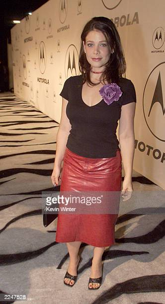 Meredith Salenger at Motorola's 2nd Annual Party at Dream in Los Angeles Ca 12/7/00 Photo by Kevin Winter/Getty Images
