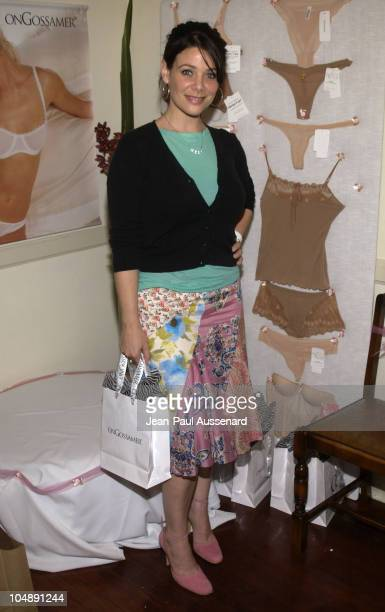 Meredith Salenger at OnGossamer during The Cabana Oscars Beauty Buffet with Allure Magazine Day 2 at Chateau Marmont in West Hollywood California...