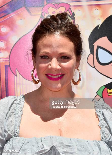 Meredith Salenger attends the premiere of Warner Bros Animation's Teen Titans Go To The Movies at TCL Chinese Theatre IMAX on July 22 2018 in...